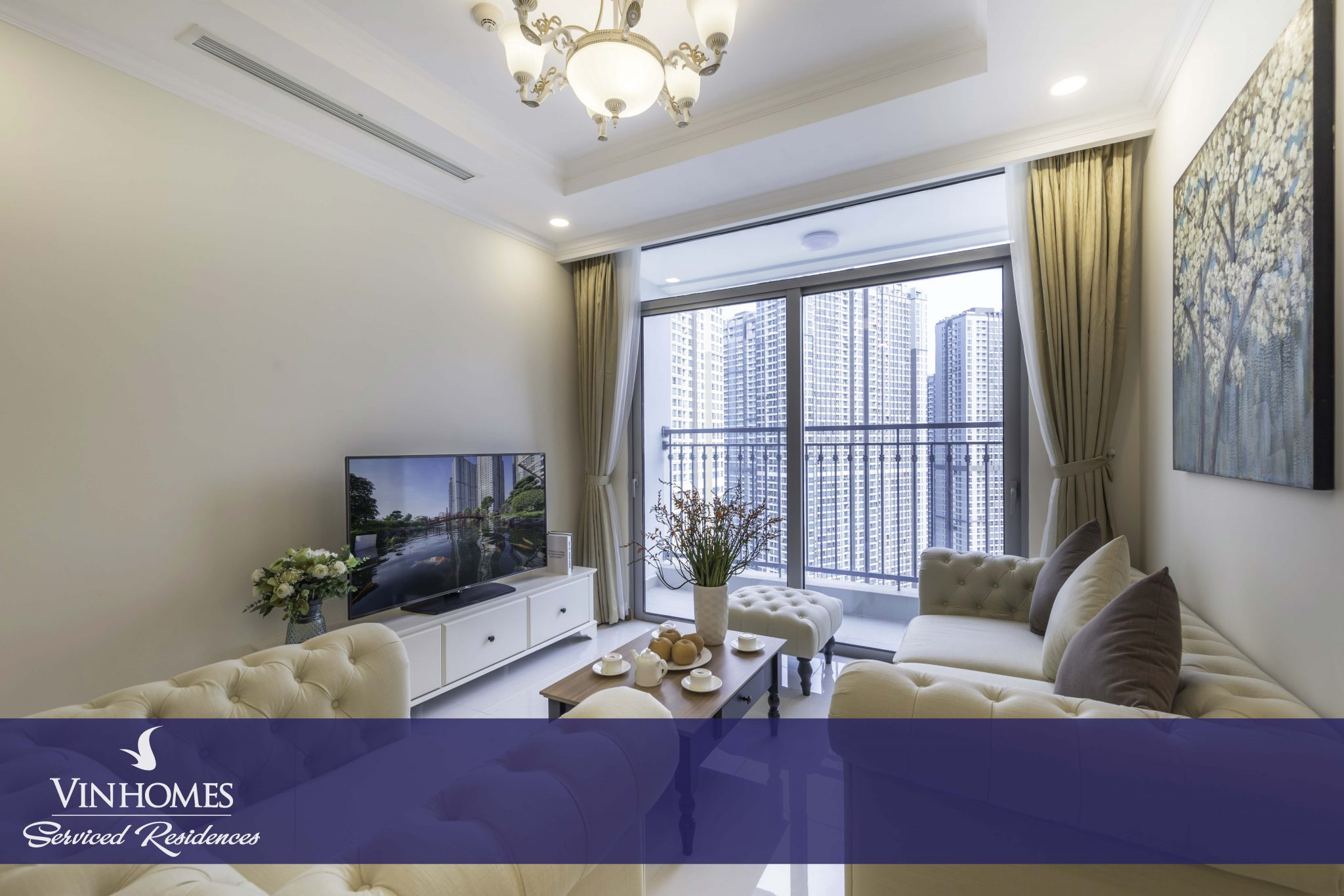 3-bedroom apartment - Vinhomes Serviced Residences