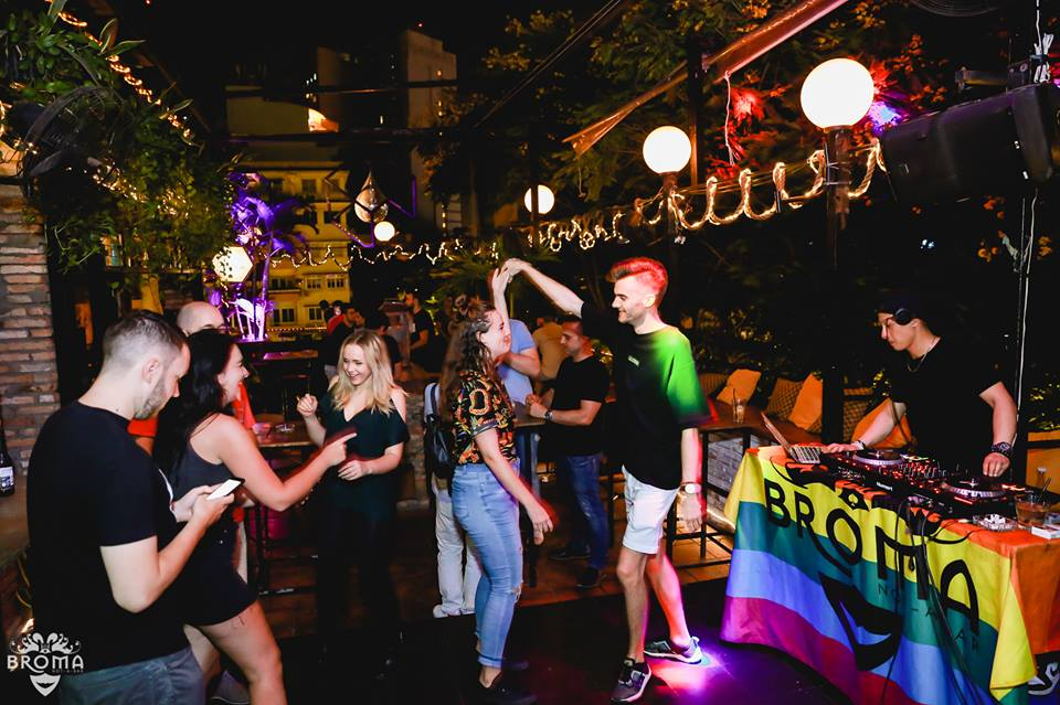 Nightlife in Broma. Image: Broma: Not a Bar Facebook.