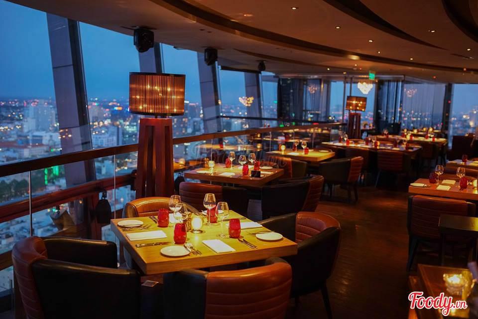 Restaurant-like standard in Chill Sky. Image: Chill Skybar Facebook.