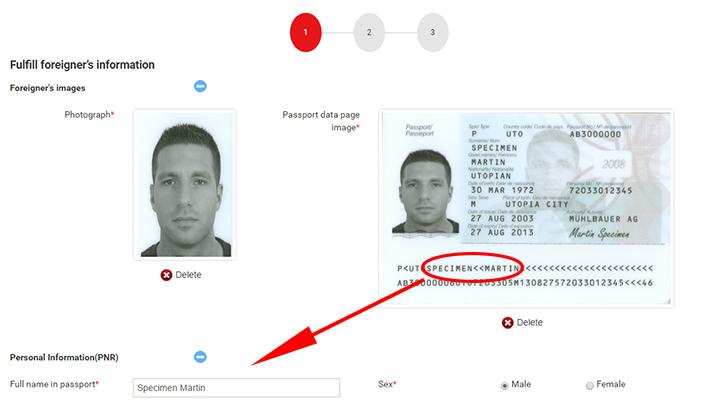 e-Visa sign up guide